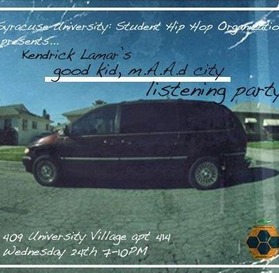 kendrick listening party